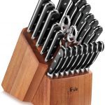 22-Piece German Steel Forged Knife Block Set