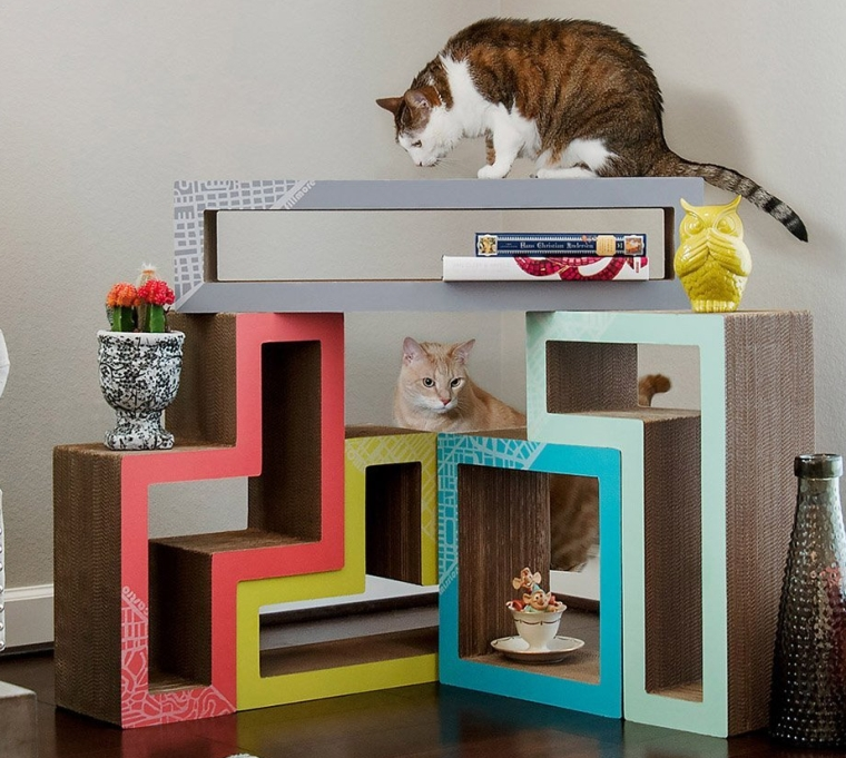 Cat Scratcher System & Blocks