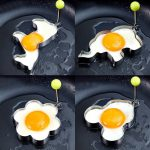 Different Shapes Stainless Steel Fried Egg Molds