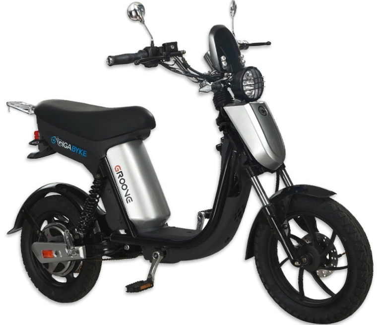 Eco-Friendly Electric Moped Scooter E-Bike