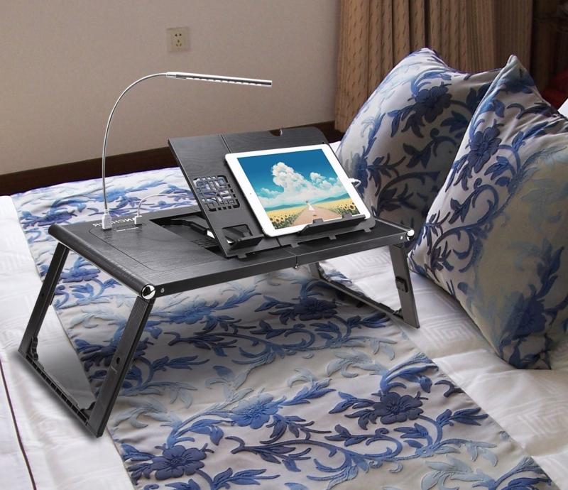 Folding Adjustable Laptop Table