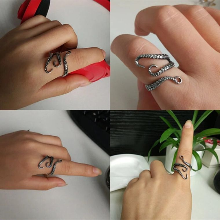 squid-kraken-punk-antique-ring