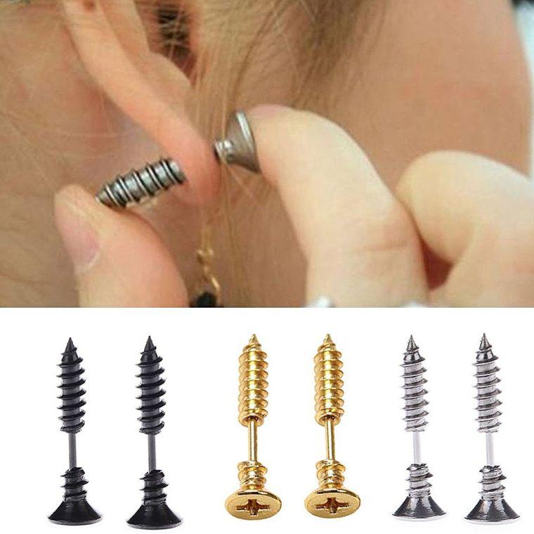 stainless-steel-piercing-cross-screws-ear-stud-earrings