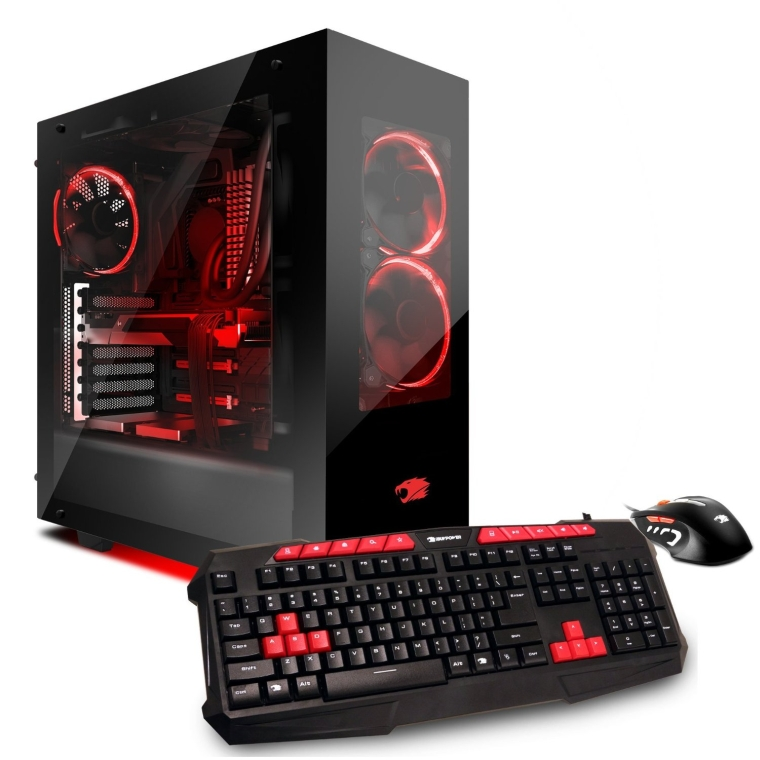 iBUYPOWER AM501X Liquid Cooling Gaming Desktop