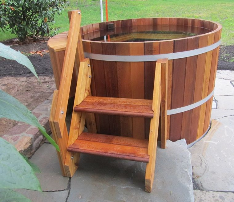 4-person-wood-hot-tub-electric-heater-with-jets