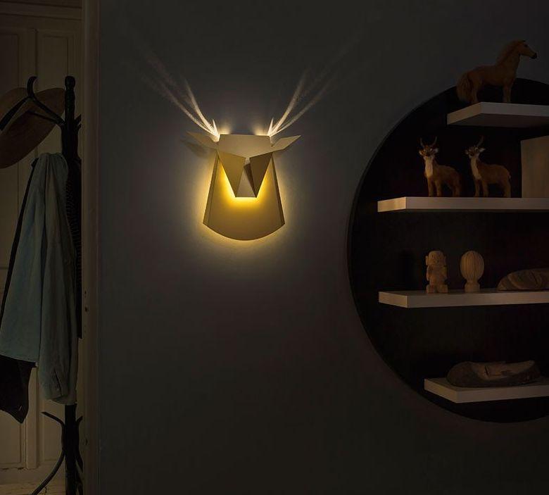 aluminium-wall-led-light-deer-head-fixture-electricity-plug
