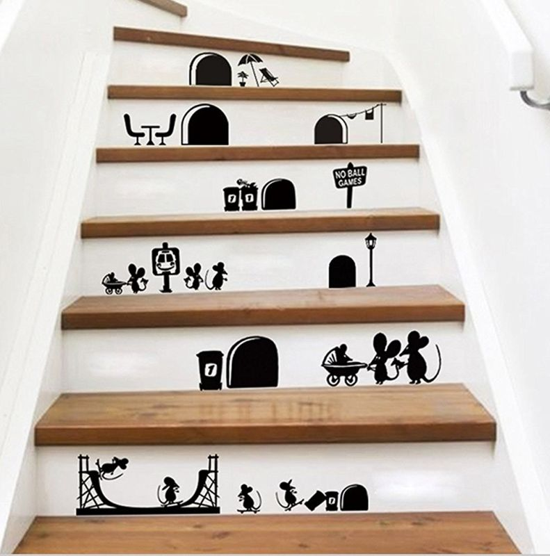 cartoon-cute-mouse-holes-wall-decals
