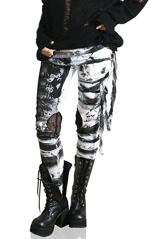 gothic-punk-leggings