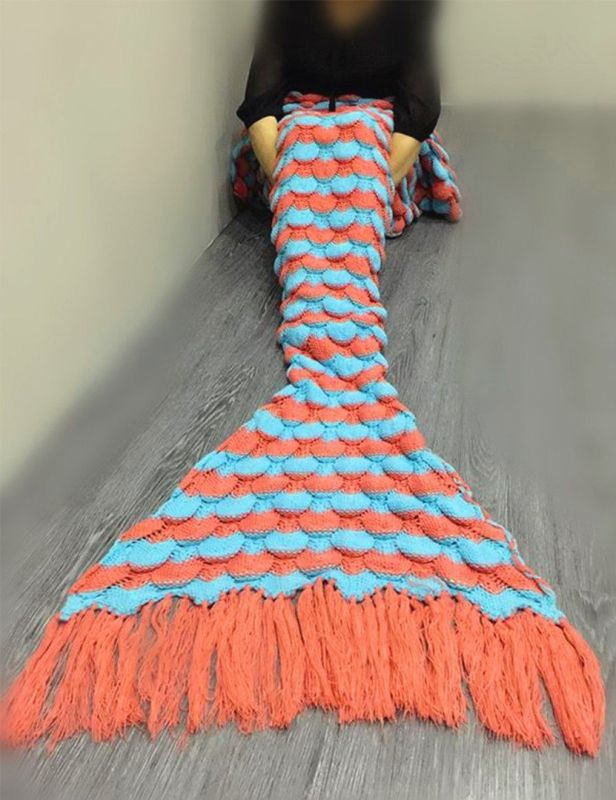 handmade-mermaid-tail-blanket-for-adults