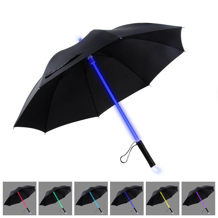 led-lightsaber-light-up-black-clear-umbrella-with-7-color