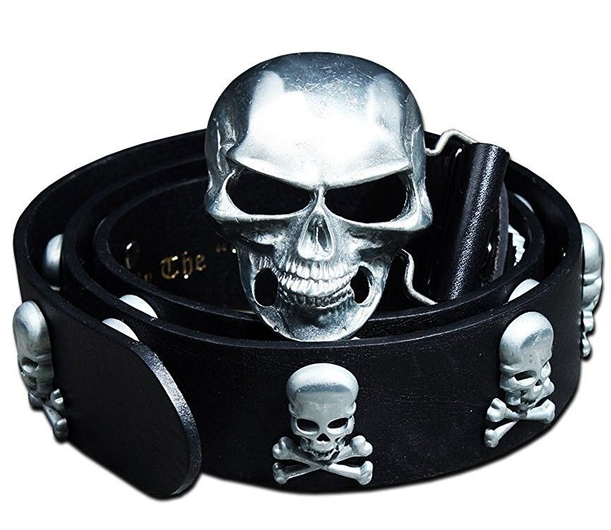leather-metal-skull-studded-belt