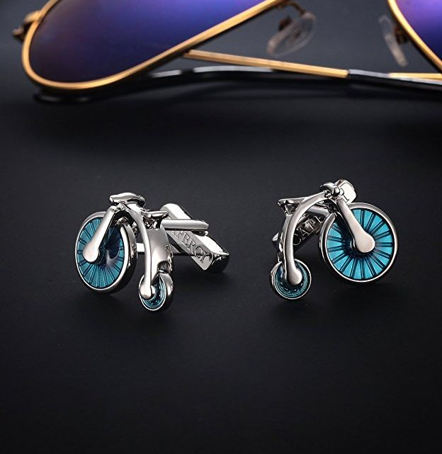 luxurious-vintage-penny-farthing-bicycle-cufflinks-for-men