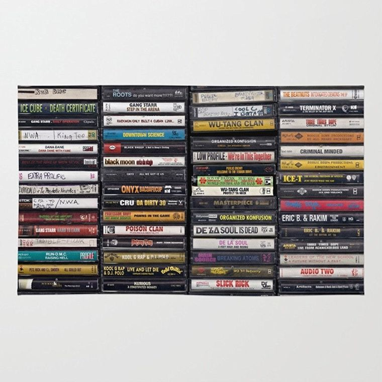 old-80s-90s-hip-hop-tapes-rug
