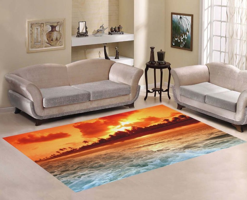 sweet-home-art-floor-decor-beautiful-sunset-beach