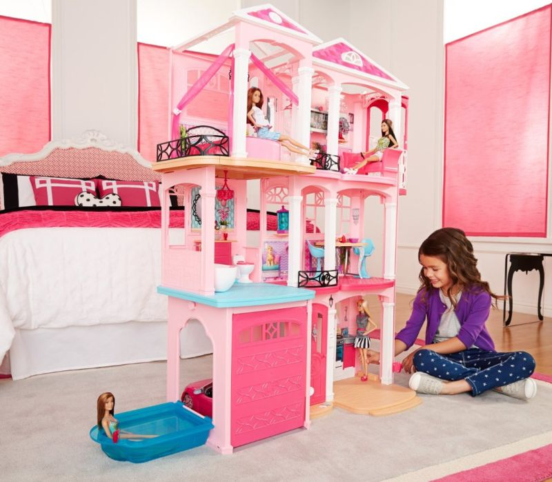 Barbie Bedroom In A Box: Barbie Dreamhouse