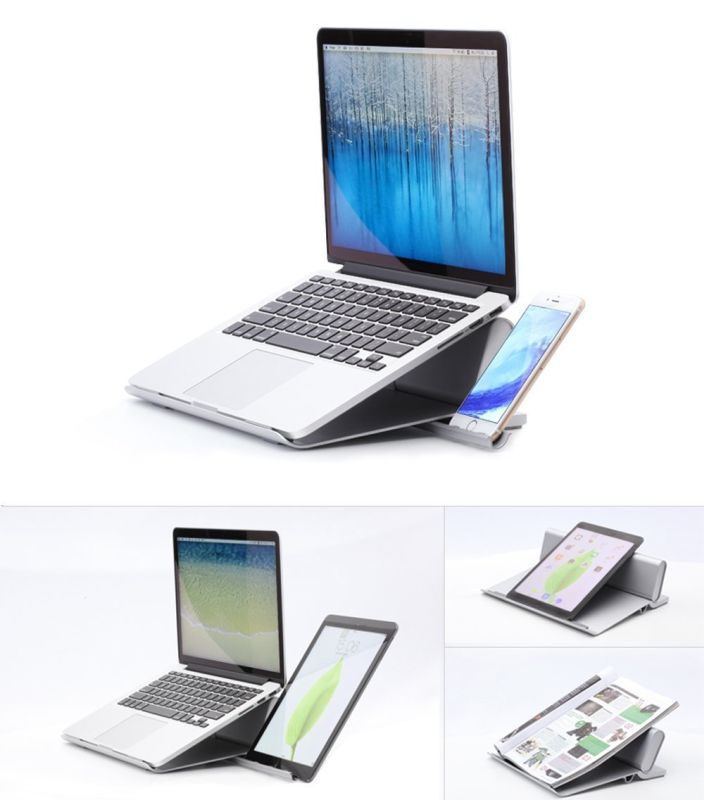 ergonomic-multi-angle-aluminium-silicone-mat-laptop-stand