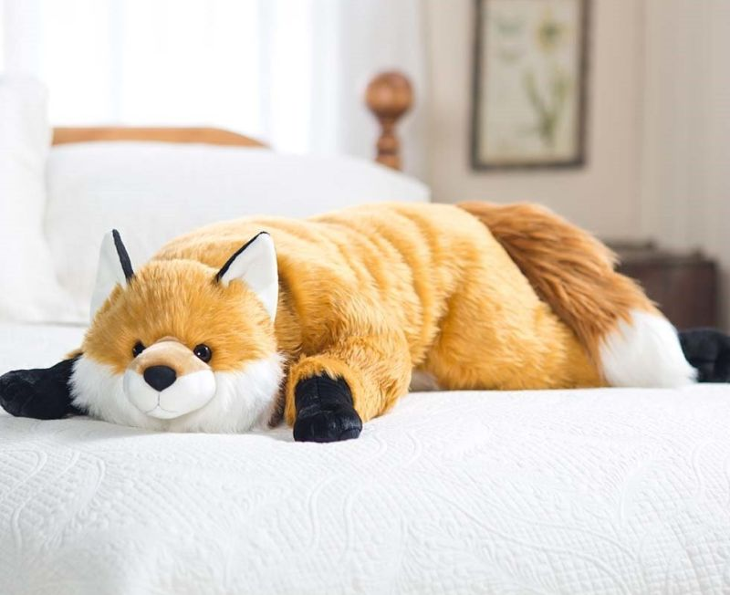 fox-body-pillow