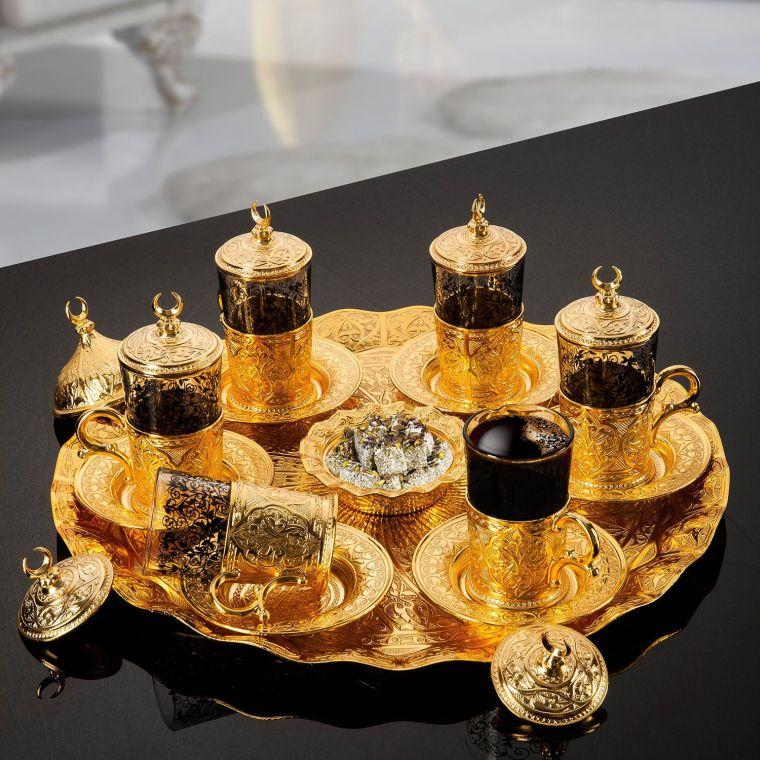 gold-plated-turkish-tea-set