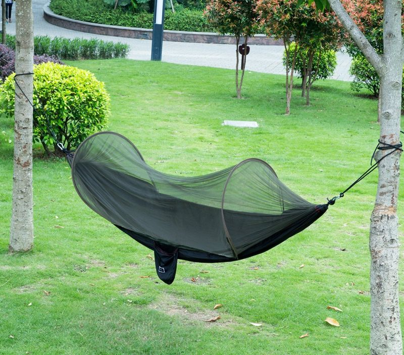 parachute-fabric-hammock-with-mosquito-net-cover