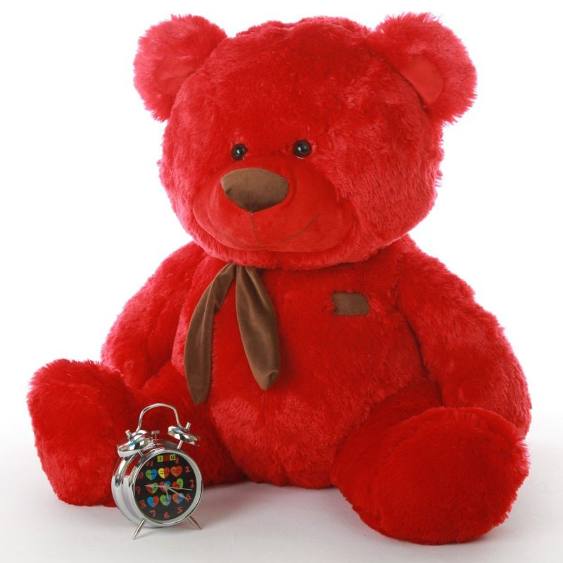 red-stuffed-teddy-bear