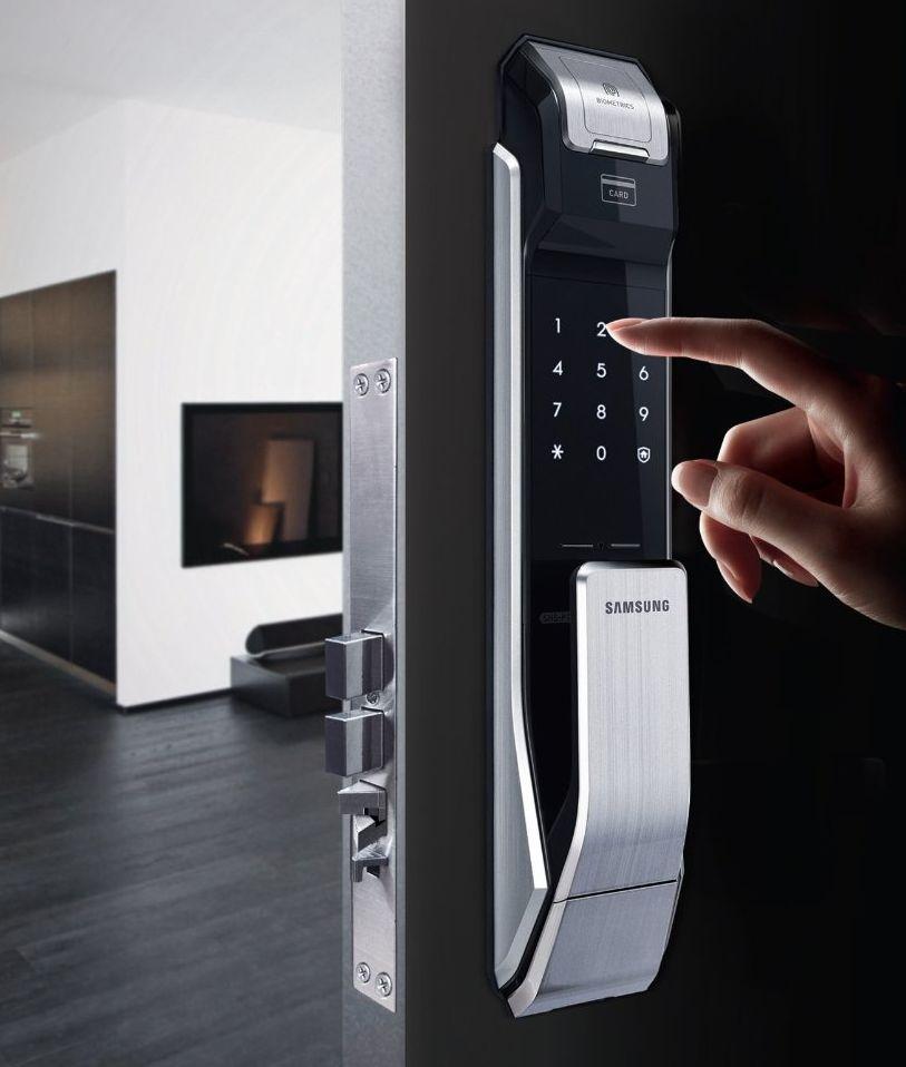 samsung-shs-p718-digital-door-lock-fingerprint-push-pull-two-way-latch-mortise