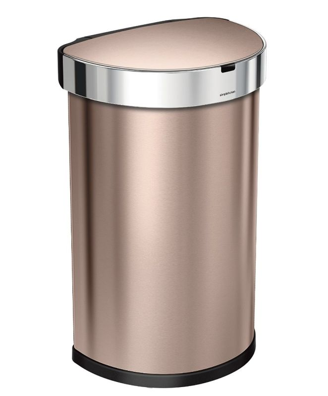 semi-round-sensor-can-with-liner-pocket-touch-free-automatic-trash-can