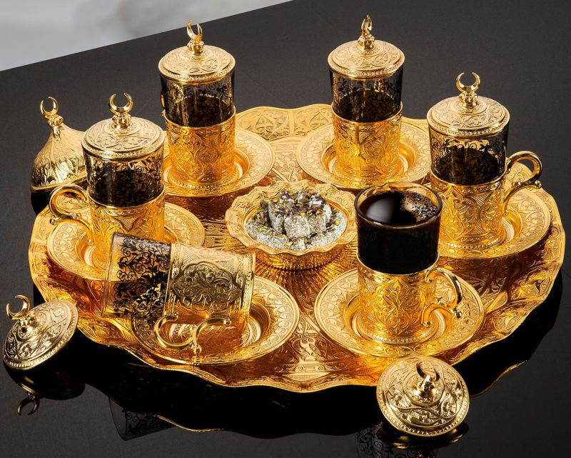gold-plated-turkish-tea-set