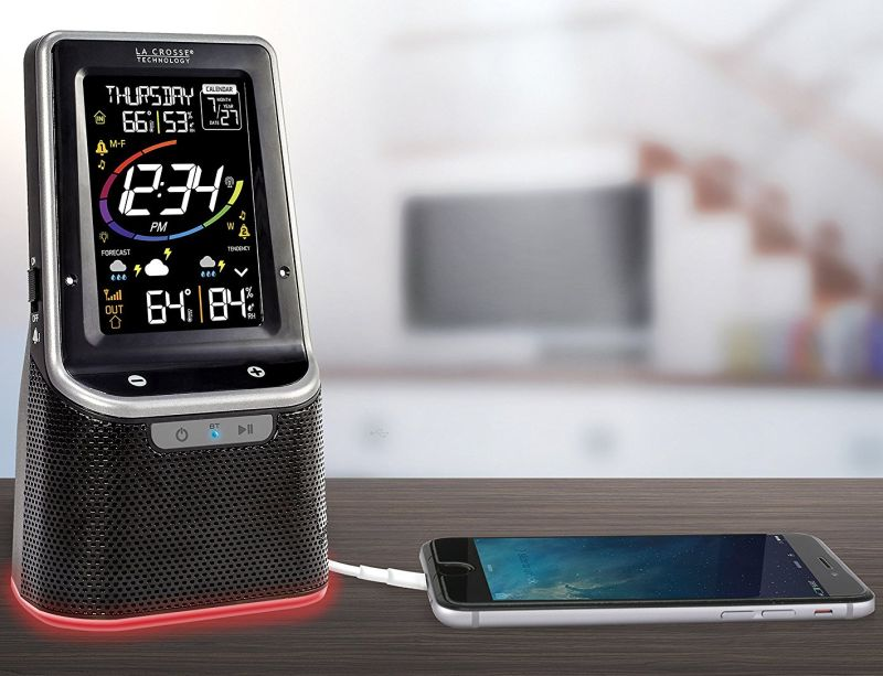 la-crosse-technology-s87078-color-wireless-weather-station-with-bluetooth-speaker-usb-port