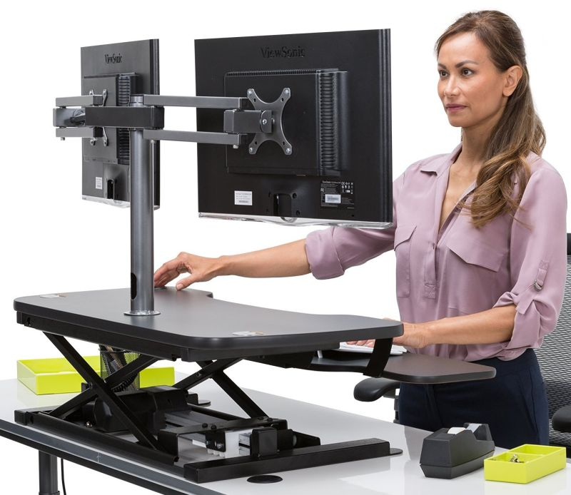 Powerdesk Electric Standing Desk Converter