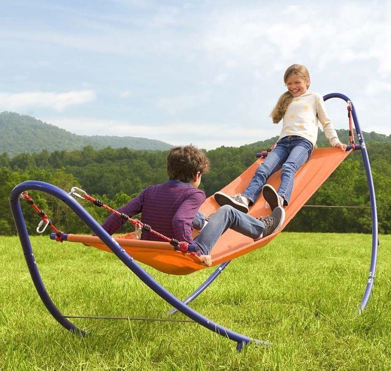 Rockin 39 2 in 1 hammock for Rope hammock plans