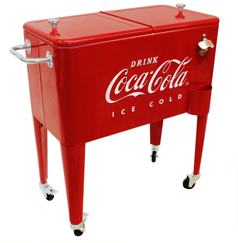 Coca Cola Ice Cold Cooler 7 Gadgets
