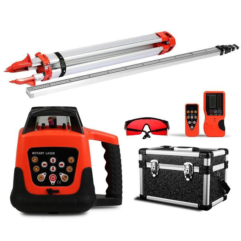 Best Electric Pressure Washer 2017 >> Happybuy Laser Level Red Rotary Laser Level 360 Self Leveling Laser Leveler