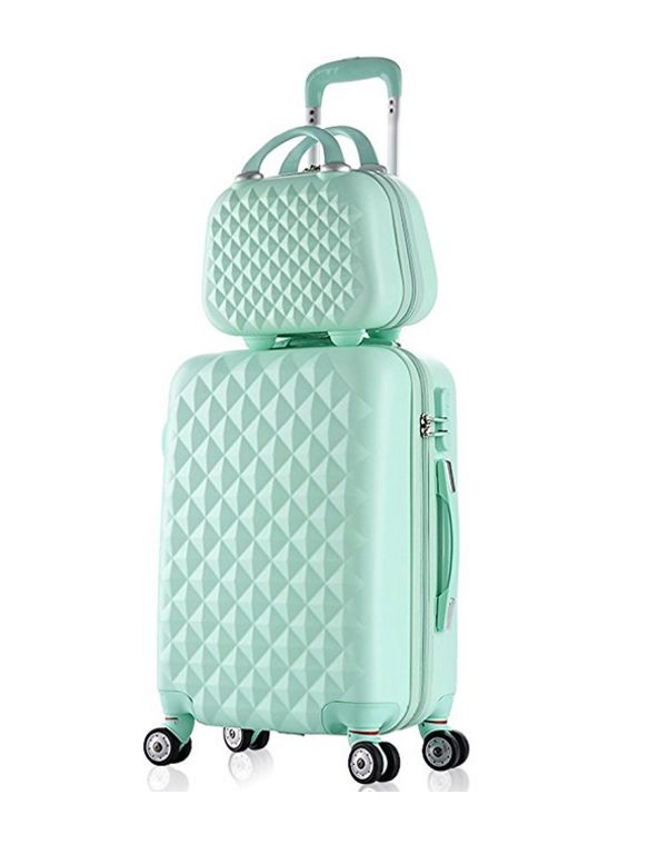 Luggage Set Spinner Trolley Suitcase Hard Shell Carry On Bag