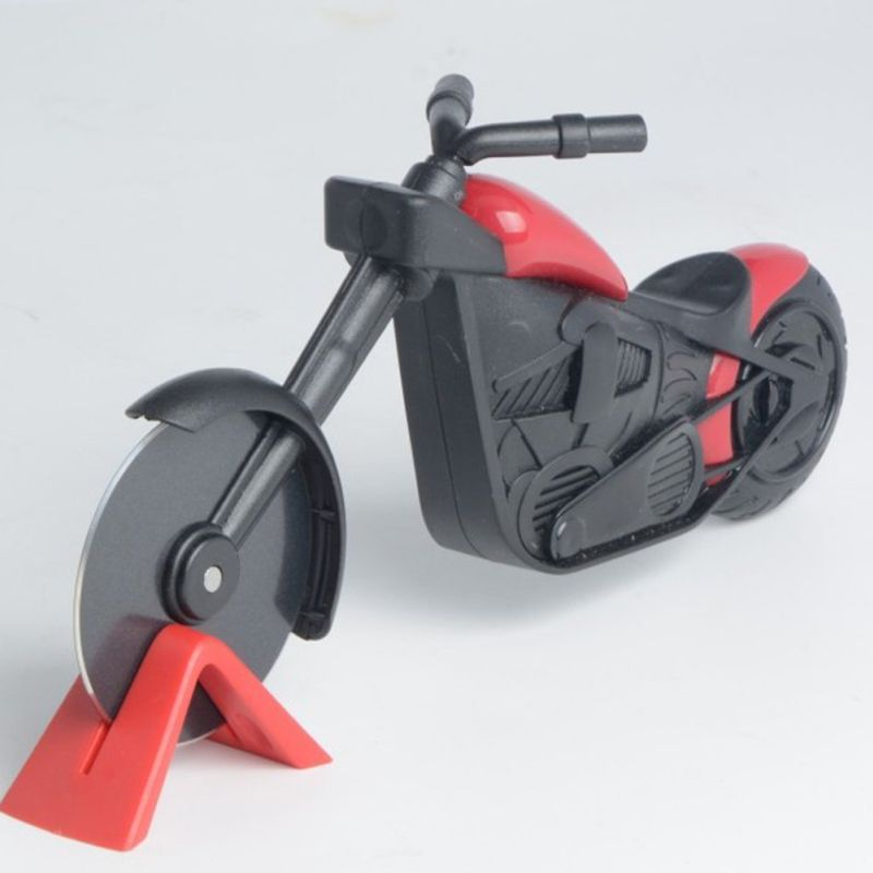 Pizza Chopper Motorcycle Shaped Pizza Cutter