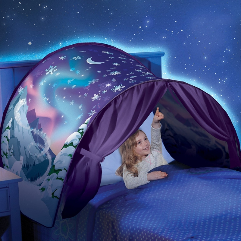 Dreamtents Kids Pop Up Bed Tent Playhouse 7 Gadgets