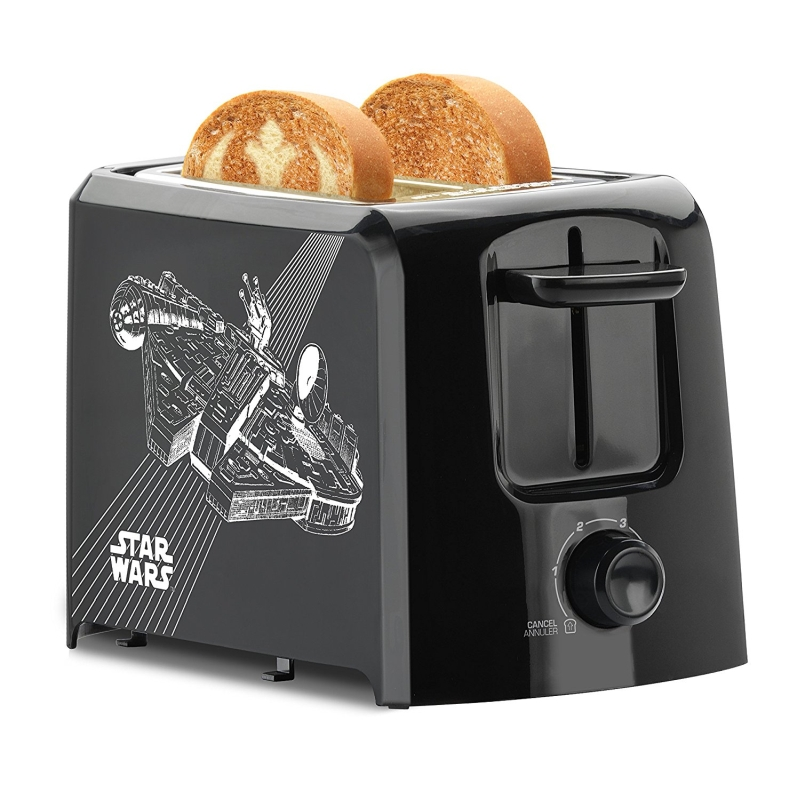Self Cleaning Toaster ~ Star wars slice toaster
