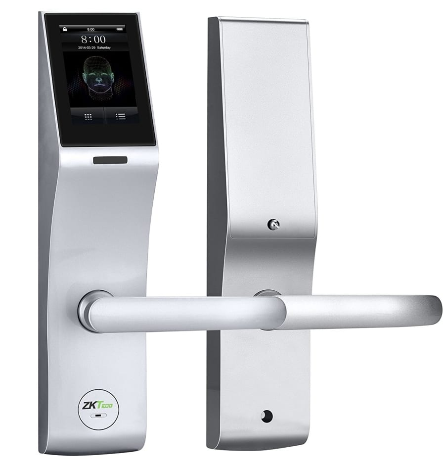 New Concept Touchscreen Facial Recognition Smart Door Lock