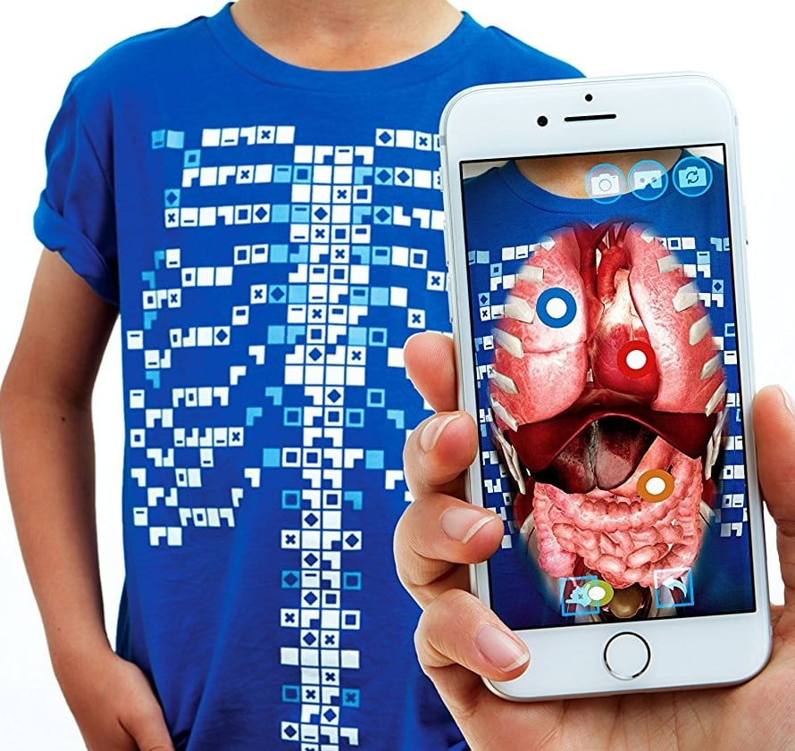 Step Into The Light Vr: Educational Augmented Reality T-shirt