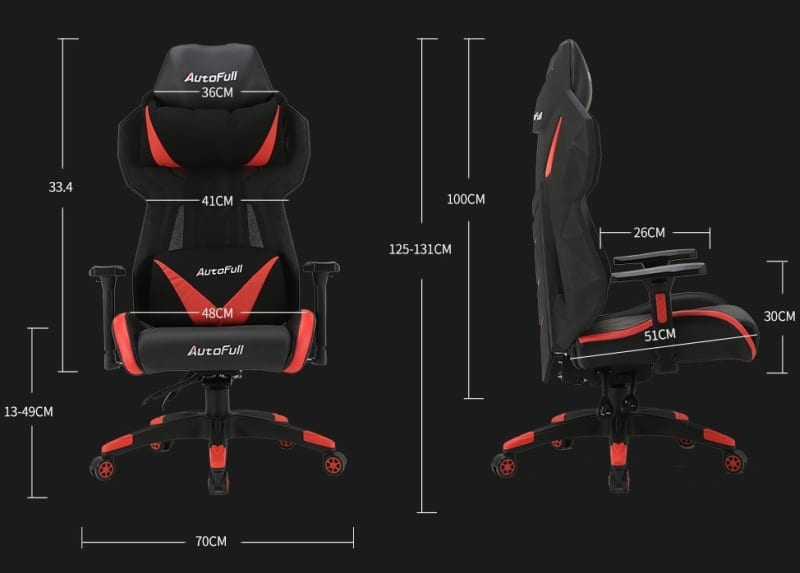 AutoFull Gaming Chair High-back Computer Chair