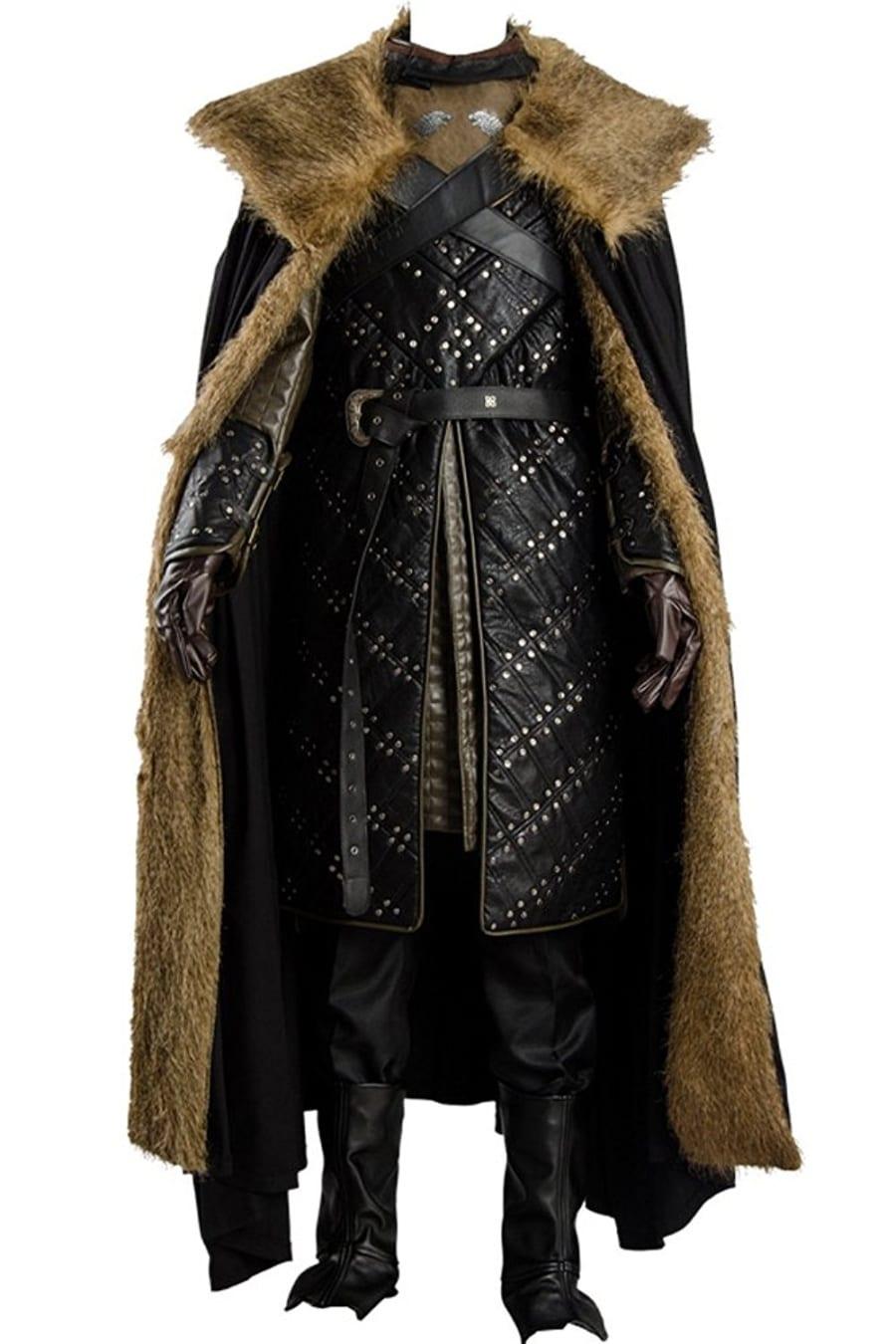 Game Of Thrones Season 7 Jon Snow Armor Costume 7 Gadgets