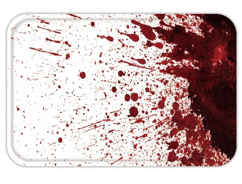 Doormat Mat Rug Carpet Dry Blood