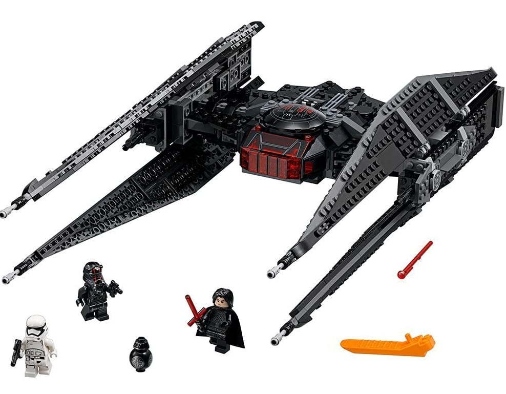 LEGO Star Wars Episode VIII Kylo Rens Tie Fighter