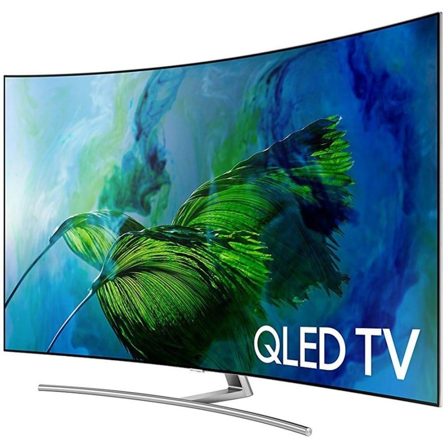samsung curved 65 inch 4k ultra hd smart qled tv. Black Bedroom Furniture Sets. Home Design Ideas