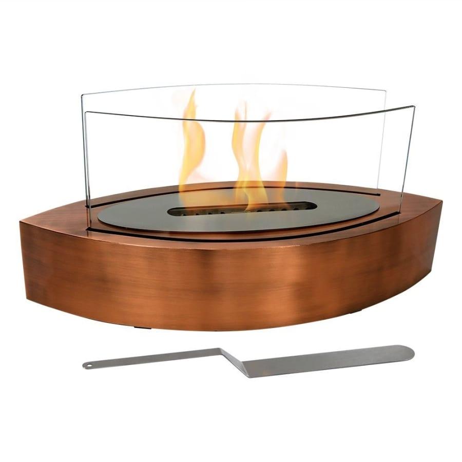 barco ventless tabletop bio ethanol fireplace