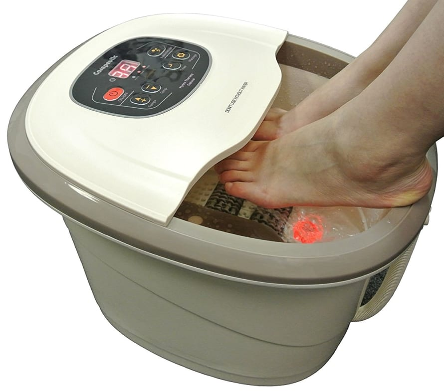 Carepeutic Motorized Hydro Therapy for Foot and Leg Spa Bath Massager