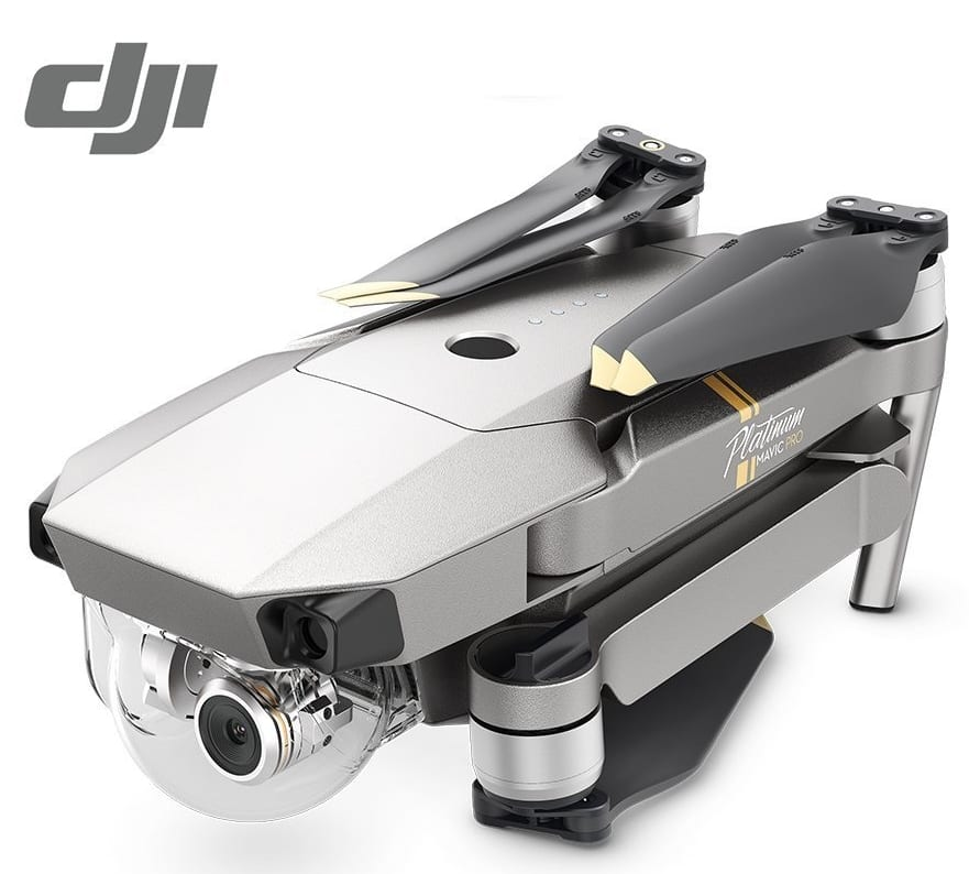 DJI Mavic PRO Platinum Drone Collapsible Quadcopter - 7 ...