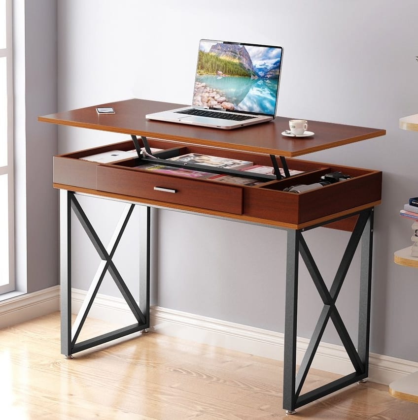 Adjustable Stand Up Desk >> Lift Top Computer Desk – 7 Gadgets