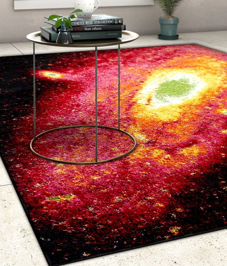 Starburst Galaxy Area Rug