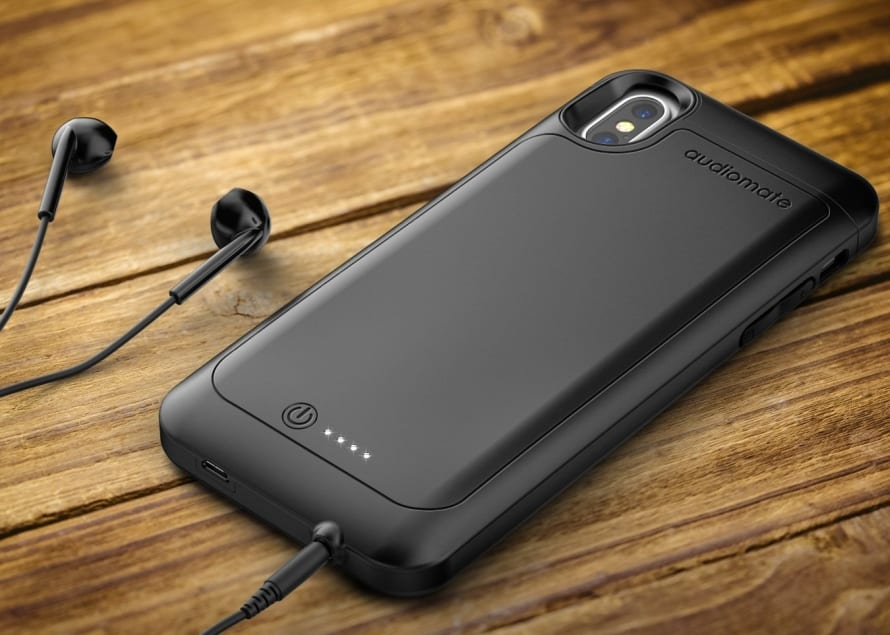 Iphone  Battery Case Headphone