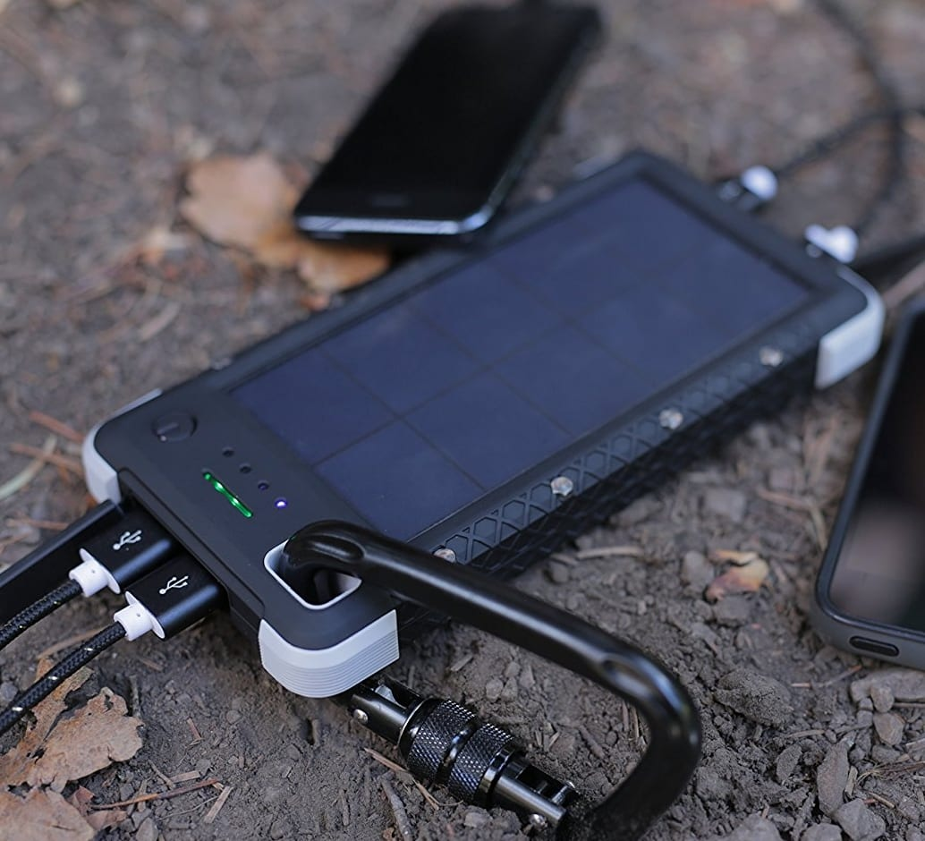 Rugged Solar Charger 7 Gadgets